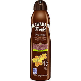 Hawaiian Tropic Protective Dry Oil Continuous Spray SPF15 180ml
