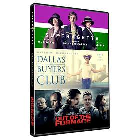 Suffragette + Dallas Buyers Club + Out of the Furnace
