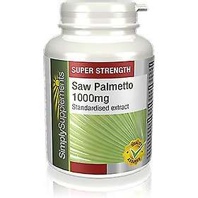 Simply Supplements Saw Palmetto 1000mg 120 Tabletter