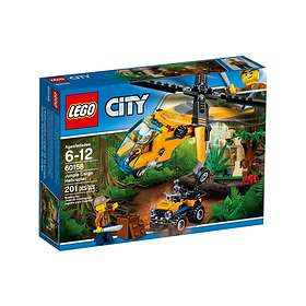 LEGO City 60158 Djungel Transporthelikopter