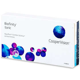 CooperVision Biofinity Toric (3-pack)
