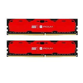 GoodRAM IRDM Red DDR4 2400MHz 2x4GB (IR-R2400D464L15S/8GDC)