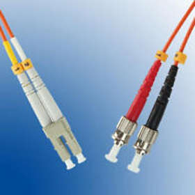 MicroConnect Multimode OM3 50/125 LC - ST 3m