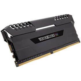 Corsair Vengeance Black RGB LED DDR4 3466MHz 4x8GB (CMR32GX4M4C3466C16)