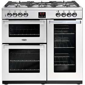 Belling Cookcentre 90DFT PROF (Stainless Steel)