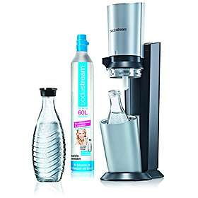 SodaStream Crystal (incl. Carbonator & 2x0.6L Bottles)