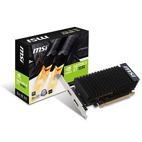 MSI GeForce GT 1030 Passive LP OC HDMI DP 2Go