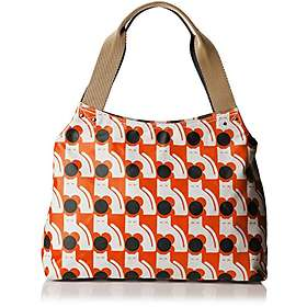 Orla Kiely Poppy Cat Zip Shoulder Bag