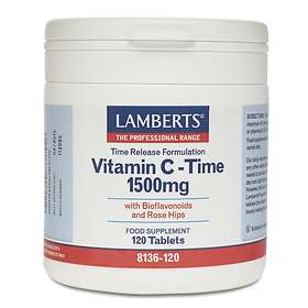 Lamberts Time Release Vitamin C 1500mg 120 Tablets