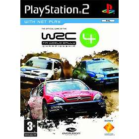 WRC 4: FIA World Rally Championship (PS2)