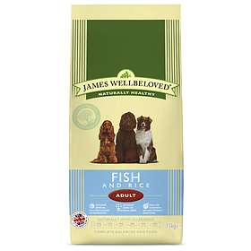 James Wellbeloved Dog Adult Fish & Rice 15kg