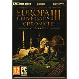 Europa Universalis III: Chronicles Complete (PC)