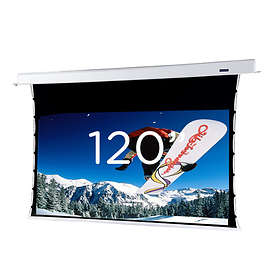 "Dimension Screens Andromeda Electric Tab-Tension Pure White 16:9 120"" (266x150)"