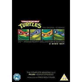 Teenage Mutant Ninja Turtles - Season 1-2 Plus 4 Bonus Episodes (UK)