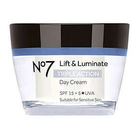 Boots No7 Lift & Luminate Triple Action Day Cream SPF15 50ml