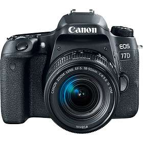 Canon EOS 77D + 18-55/3.5-5.6 IS STM