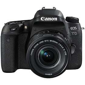 Canon EOS 77D + 18-135/3.5-5.6 IS USM + 55-200/4.5-6.3 IS STM