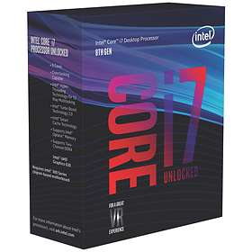 Intel Core i7 8700K 3.7GHz Socket 1151-2 Box without Cooler