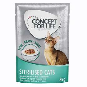 Concept for Life Cat Adult All Cats 10+ Pouches 12x0,085kg