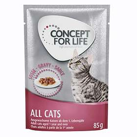 Concept for Life Cat Adult All Cats Pouches 24x0,085kg