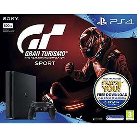 Sony PlayStation 4 Slim 500GB (incl. Gran Turismo Sport)