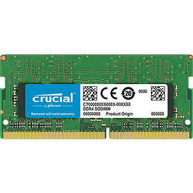 Crucial SO-DIMM DDR4 2666MHz 16GB (CT16G4SFD8266)