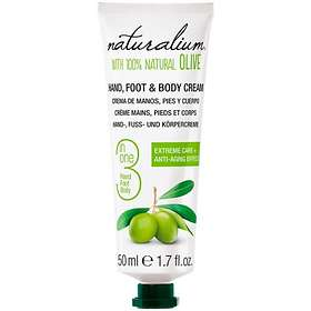 Naturalium 3in1 Hand Foot & Body Cream 50ml