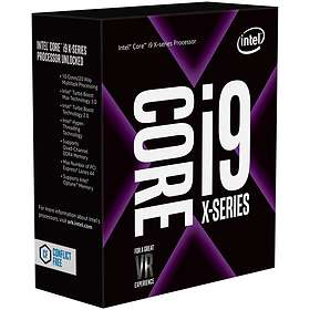 Intel Core i9 7960X 2,8GHz Socket 2066 Box without Cooler