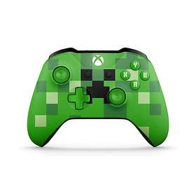 Microsoft Xbox Wireless Controller S - Minecraft Creeper (Xbox One/PC)