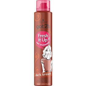 Schwarzkopf Got2b Fresh It Up Dark Brown Dry Shampoo 200ml