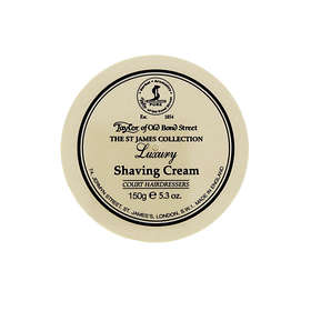 Taylor of Old Bond Street St James Collection Luxury Shaving Cream 150g