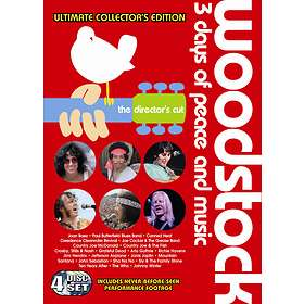Woodstock - 3 Days of Peace and Music (4-Disc)