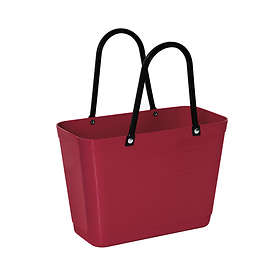 Hinza Green Plastic Small Shopper Bag