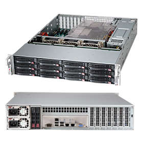 Supermicro SC826BE1C4-R1K23LPB 1200W (Black/Silver)