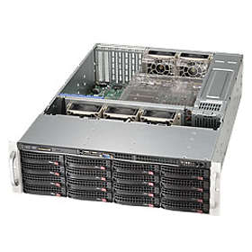 Supermicro SC836BE1C-R1K23B 1200W (Silver/Black)