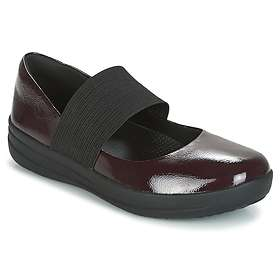 FitFlop F-Sporty Mary Janes Crinkle Patent