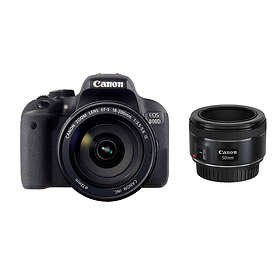 Canon EOS 800D + 18-200/3,5-5,6 IS + 50/1,8 STM