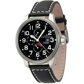 Zeno-Watch OS Pilot Power Reserve Dual-Time Day Date 8055-a1