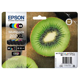 Epson 202XL (Black/Cyan/Magenta/Yellow)