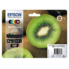 Epson 202 (Black/Cyan/Magenta/Yellow)