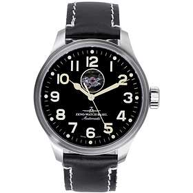 Zeno-Watch OS Pilot Open Heart 8554U-a1