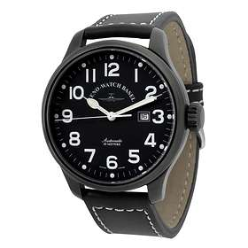 Zeno-Watch Oversized Pilot 8554-bk-a1