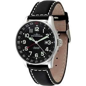 Zeno-Watch X-Large Pilot GMT P554GMT-a1