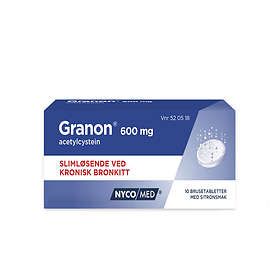Nycomed Granon 600mg 10 Brustabletter