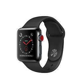 Apple Watch Series 3 4G 38mm Stainless Steel with Sport Band