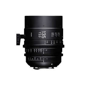 Sigma CINE 135/2.0 for PL