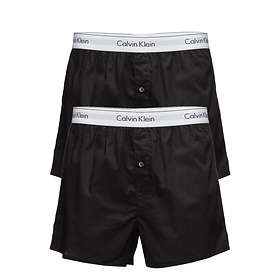 Calvin Klein NB1396A Slim Fit Boxer 2-Pack