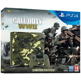 Sony PlayStation 4 Slim 1TB (incl. Call of Duty: WWII - Limited Edition)