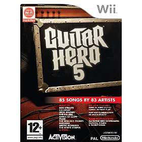 Guitar Hero 5 (incl. Guitar) (Wii)