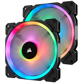 Corsair LL140 Dual Light Loop RGB PWM 140mm LED 2-pack